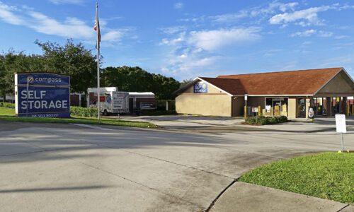 Compass Self Storage in New Port Richey, FL.