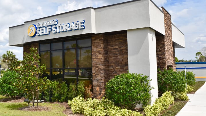 A Compass Self Storage Facility office.