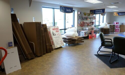 Boxes and moving supplies in Fernandina Beach, FL.