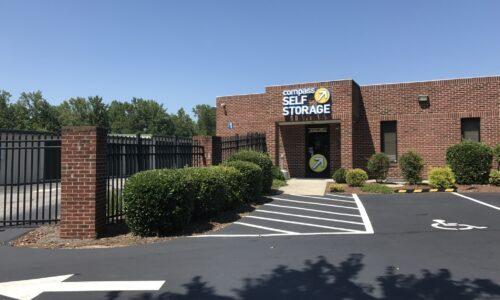 Compass Self Storage in Wendell, North Carolina.