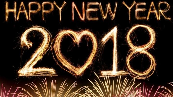 we hope everyone had a great night saying goodbye to 2017 welcoming 2018