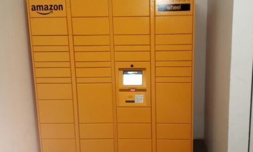 Amazon Hub at Compass Self Storage in Providence, Rhode Island