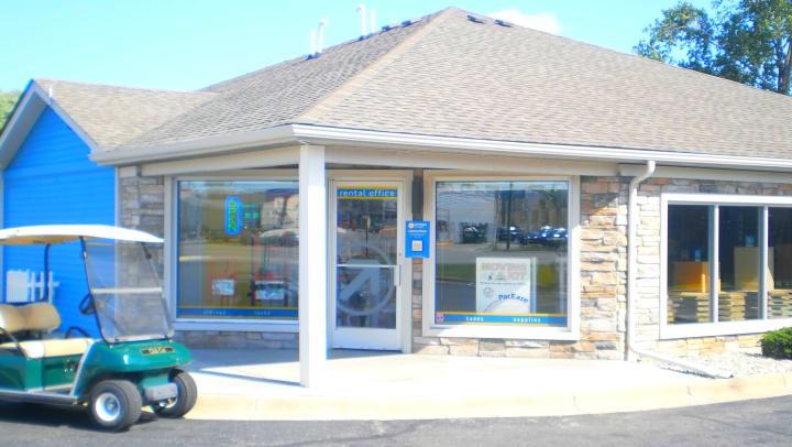 A Compass Self Storage office in Michigan.