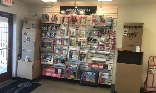 Moving supplies in East Lansing, MI.