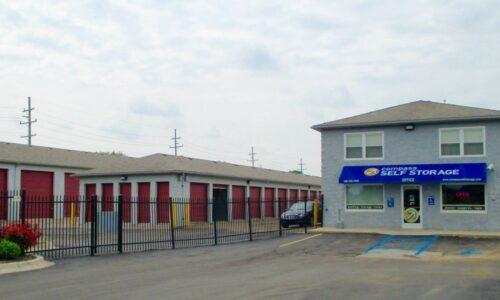 Compass Self Storage facility in Warren Michigan.