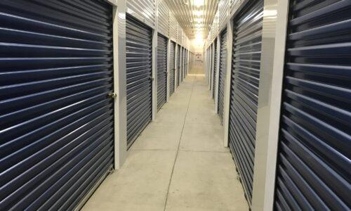 Interior hallway of storage facility in Warren, MI.