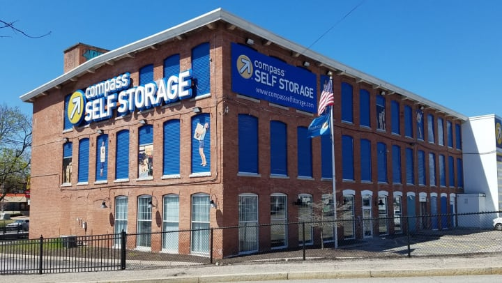 Compass Self Storage facility in Providence, RI.