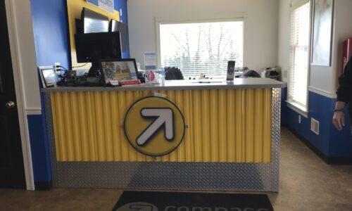 Storage rental office in Asbury, NJ.