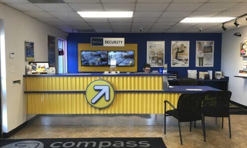 Storage rental office in Montgomery, AL.