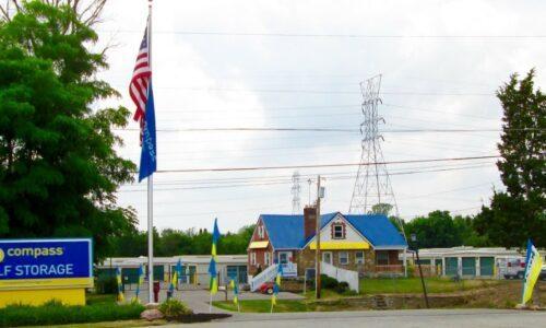 Compass Self Storage facility in Cincinnati, OH.