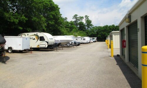 Outdoor storage for vehicles in Hebron, KY.