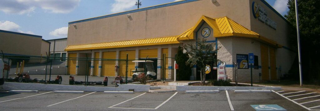 Compass Self Storage facility in Duluth, GA.
