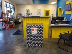 Self storage office in Smyrna, GA.