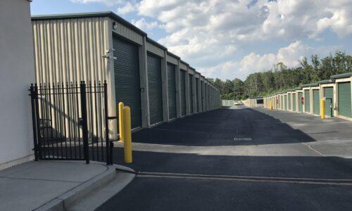 Drive-up storage units in McDonough, GA.