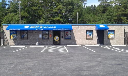 Compass Self Storage Eastwood in Conyers, GA.