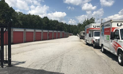 Moving truck rental in Conyers, GA.