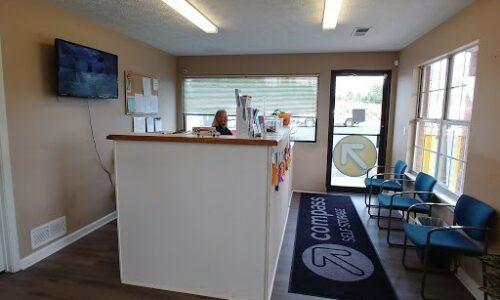 Rental office for self storage in Lawrenceville.