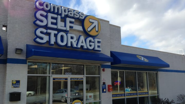 Compass Self Storage facility in River Grove, Illinois.
