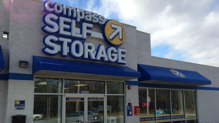 Compass Self Storage facility in River Grove, Illinois.