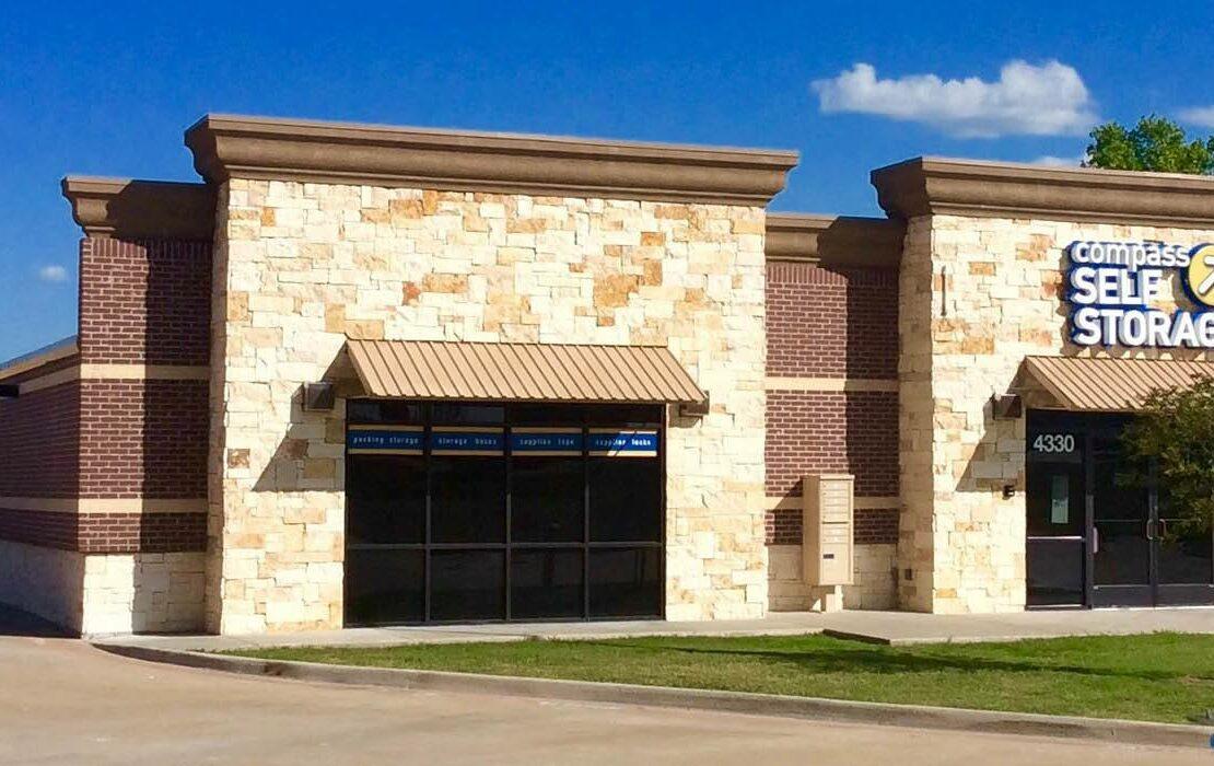 Compass Self Storage facility in Grand Prairie, Texas.