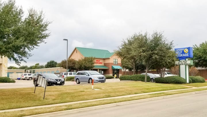 Compass Self Storage facility on Hulen Street in Fort Worth, Texas.