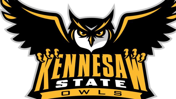 Kennesaw State University Owls mascot logo.