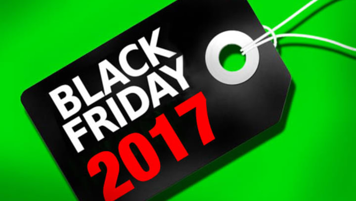 Graphic of 2017 Black Friday item tag.
