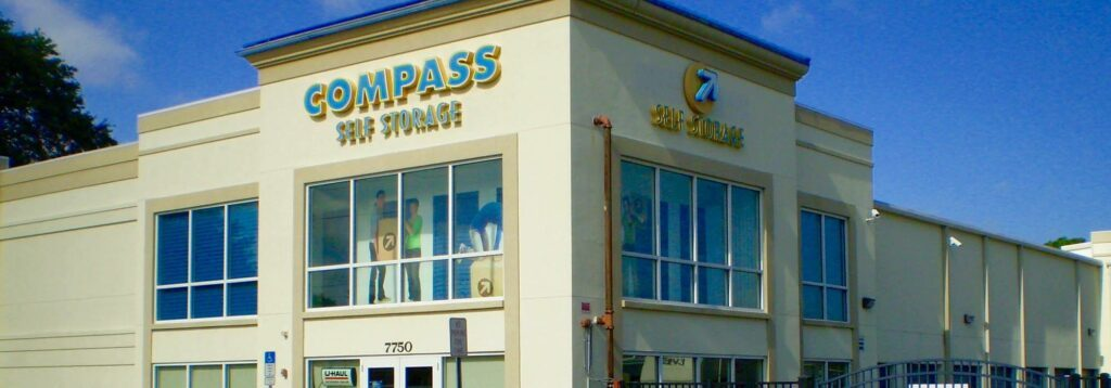Compass Self Storage facility in Sarasota, Florida.
