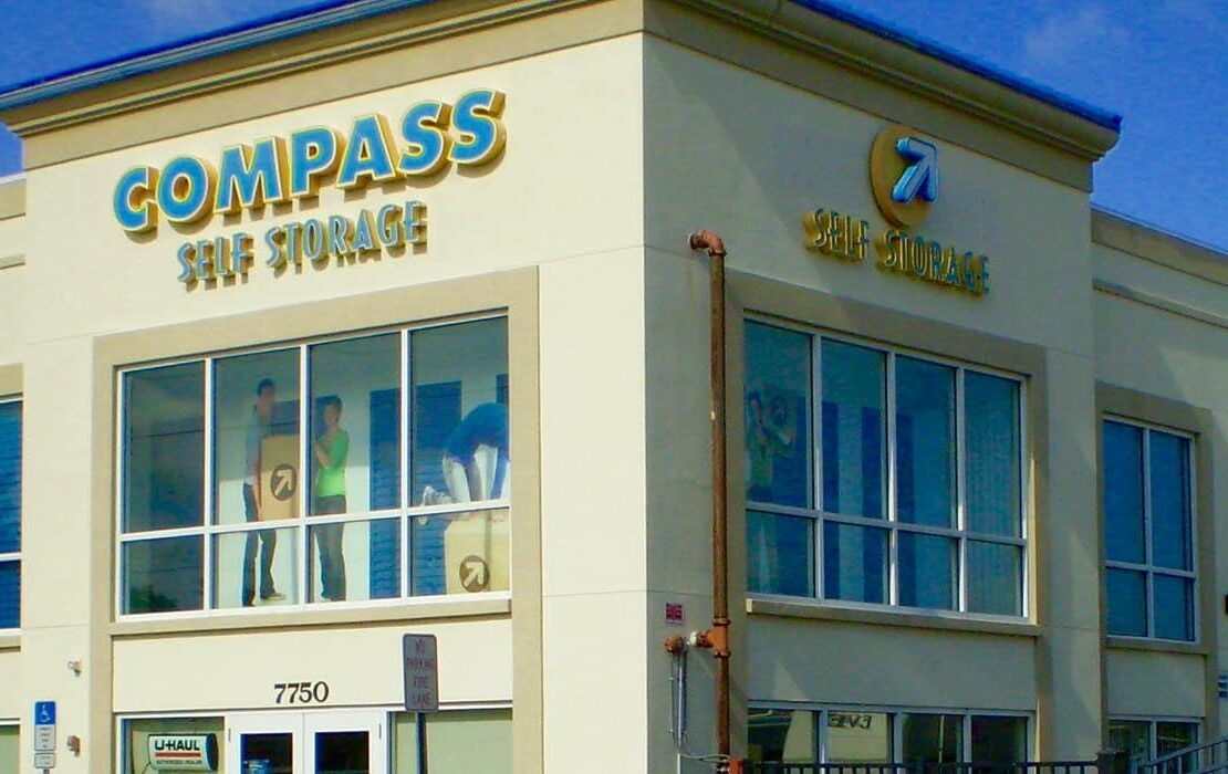 Compass Self Storage facility in Sarasota, Florida.