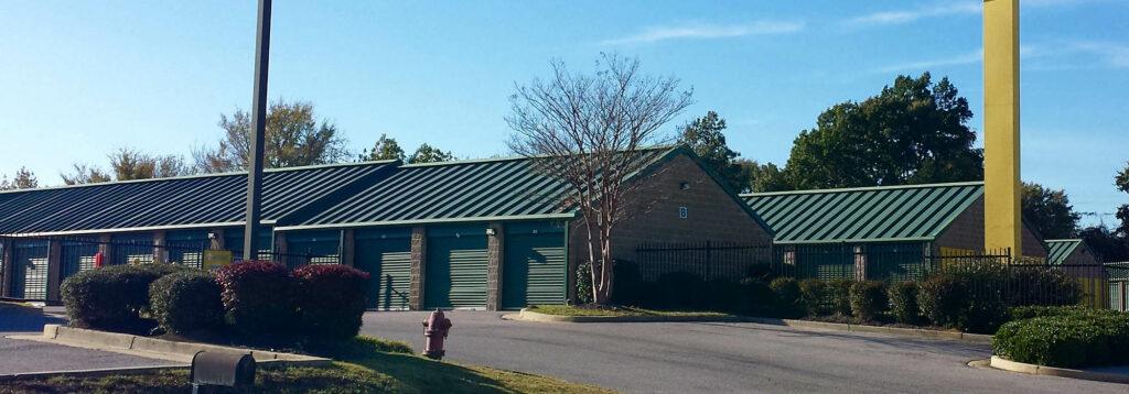 Compass Self Storage outdoor storage units.