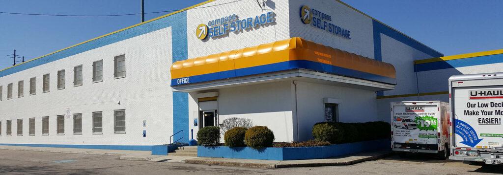 Compass Self Storage facility in Philadelphia, Pennsylvania.