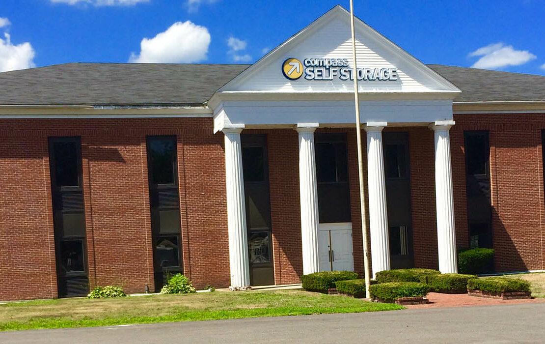 Compass Self Storage facility in Taunton, Massachusetts.