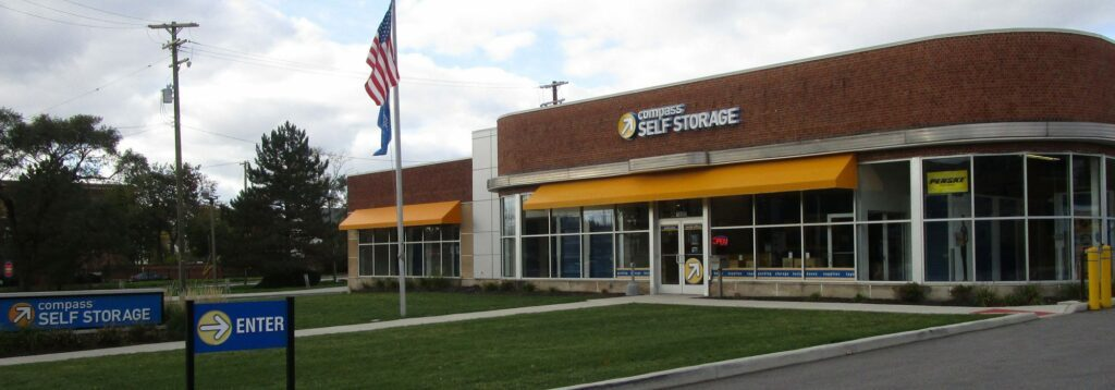 Compass Self Storage in Shaker Heights, Ohio.