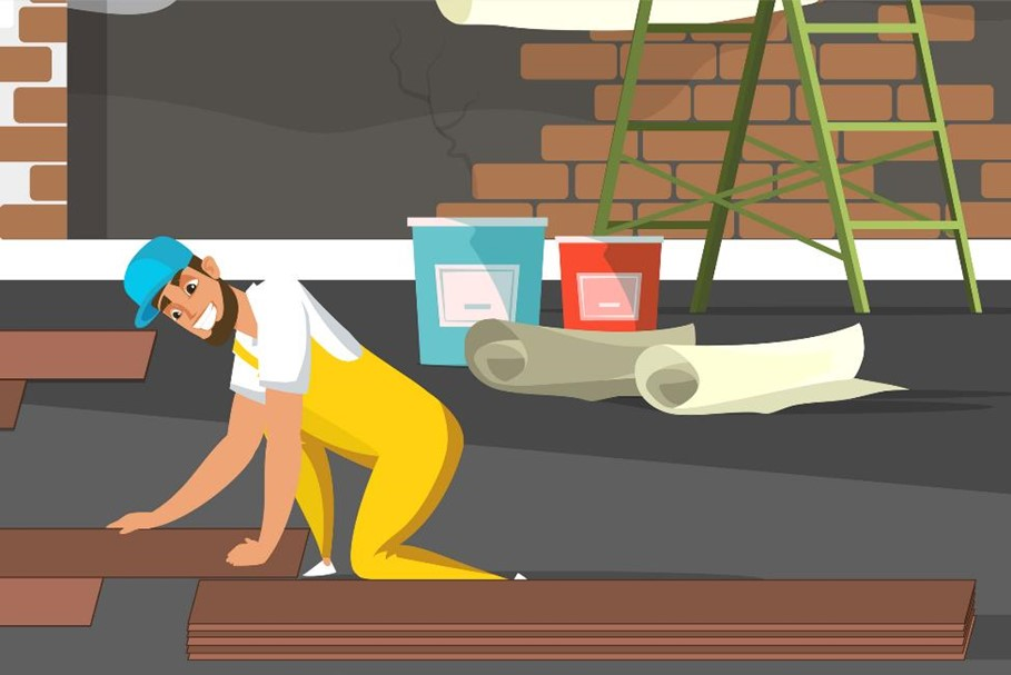 Renovating your floor with the help of self storage